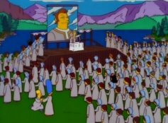 The Simpsons 09x13 : The Joy of Sect- Seriesaddict